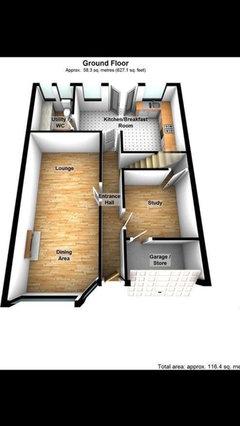 1930s semi detached house interior design layout