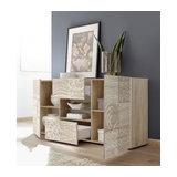 Miro (Oak) 2 door 2 drawer sideboard