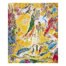 Sorcerer of Music, Limited Edition, Offset Lithograph, Marc Chagall