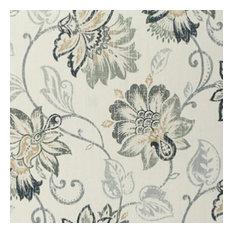 "August Morning Slate Fabric, 9""x9"""