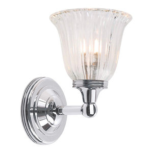 Austen Polished Chrome Bathroom Wall Light