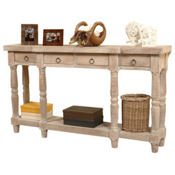Farmhouse Console Tables by Sunset Trading