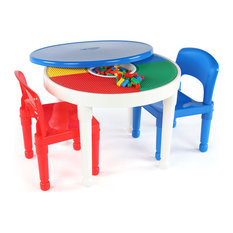 Tot Tutors   Kids 2 In 1 Activity Table And 2 Chairs Set