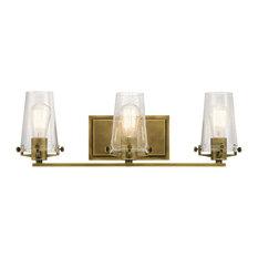 Superb Kichler   Kichler Alton Bathroom Light, Natural Brass   Bathroom Vanity  Lighting