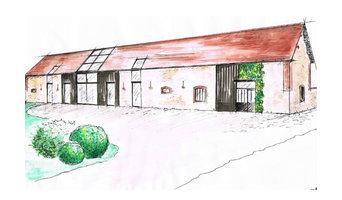 Etude rénovation d'une grange en bureau et habitation