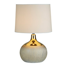 Reese Table Lamp, Gold Finish