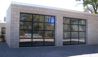 Aluminum full view doors