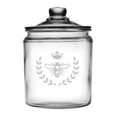 Vintage Bee Half-Gallon Treat Jar