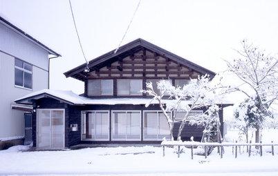 Houzzツアー:150年を経た民家を生まれ変わらせるリノベーション「湯沢の住宅」