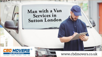 Get Skilled and Affordable Man with a Van Services in Sutton