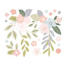 Bloom Wall Sticker Kit, Large Flowers
