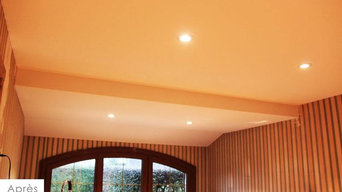 Plafond tendu à froid - rénovation