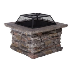 GDFStudio - Tundra Square Fire Pit - Fire Pits