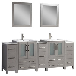 Contemporary Bathroom Vanities And Sink Consoles by Vanity Art LLC