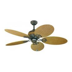 """Wicker Outdoor Fan 48"""" Ceiling Fan"""