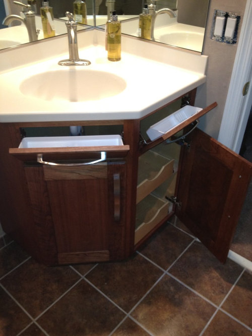 Corner bathroom vanity houzz - Corner bathroom vanities for sale ...