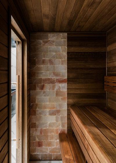 Современный Ванная комната by Дизайн-студия US Interiors