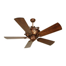Toscana 4 Light 54 in. Indoor Ceiling Fan in Peruvian Bronze