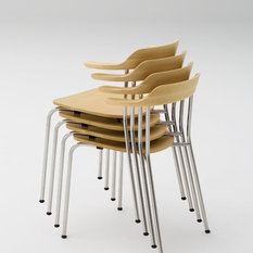 - Hiroshima Arm Chair Stackable - Office Chairs