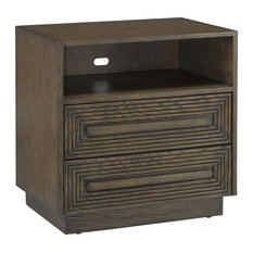 Currey And Company Morombe Cocoa Nightstand