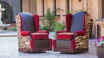 Custom wing chairs