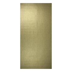 175023 Gold Metallic Plain Textured Wallpaper, Euro Roll - 75 Sq.ft