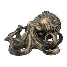 Steampunk Octopus Trinket Box