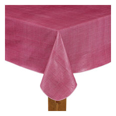 "Cafe Deauville 100% Vinyl Tablecloth, Burgundy, 52""x52"""