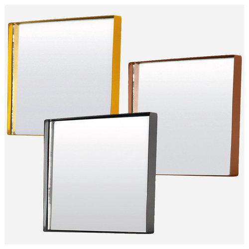 Square Spegel 30x30cm, Mässing - Spejle