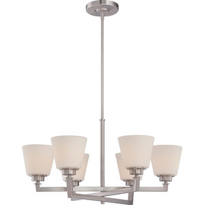 Chandelier Mobili Collection, Brushed Nickel