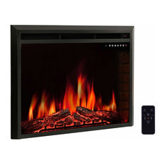 R.W.FLAME Electric Fireplace Insert, Freestanding and Recessed Heater, 36""