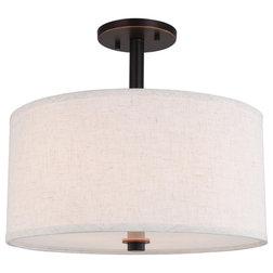 Transitional Flush-mount Ceiling Lighting by Woodbridge Lighting Inc.