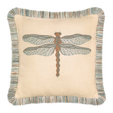 Elaine Smith - Elaine Smith Dragonfly Spa Pillow - Outdoor Cushions and Pillows