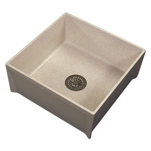 Mustee Mop Service Basin 24 Quot X36 Quot X10 Quot White Contemporary