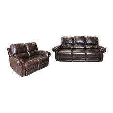 Parker Living Thurston Havana Dual Power Reclining Sofa Set 2-Piece Set