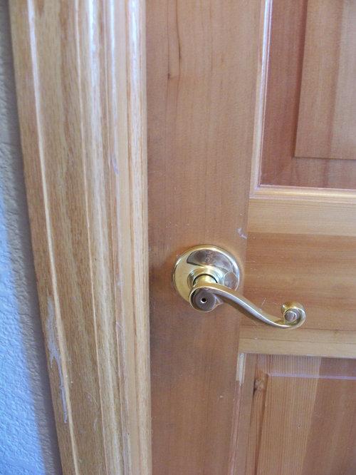 Updating 1999 Home Paint Golden Oak Door Trim And