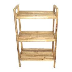 3-Tier Bamboo Bath Shelf