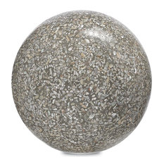 Currey and Company Abalone Small Concrete Ball