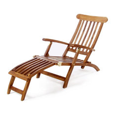 All Things Cedar Teak Steamer Chair