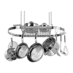 Stainless Steel Oval Pot Rack