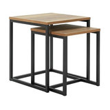 Argos Home Nomad Nest of Tables - Oak Effect