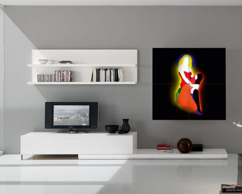 Modern Wall Unit Exential Spar Art Lodola 1   $6,455.00   Entertainment  Centers And Tv Stands