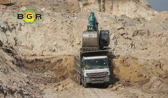 Mining heavy equipment