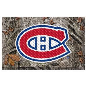 Indoor NHL Montreal Canadiens Scraper Mat 19x30