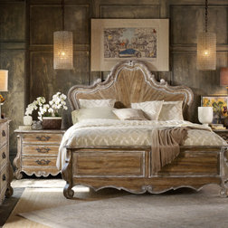 Farmhouse Panel Beds by ShopLadder