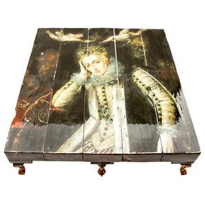 Grand 8-Legged Queen Elizabeth I Coffee Table