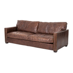 Four Hands Home   Carnegie Larkin 88 Sofa, Cigar   Sofas