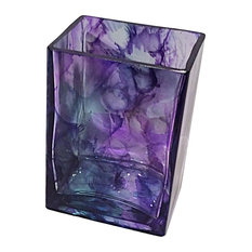 Mountain Pine Rectangle Candle, Purple, 20 oz.