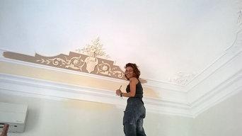 Decorazioni su pareti