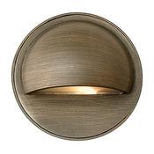 Hinkley Lighting Round Eyelid LED Step Light